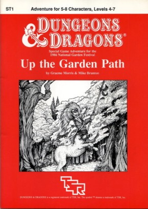 Cover of ST1 Up the Garden Path